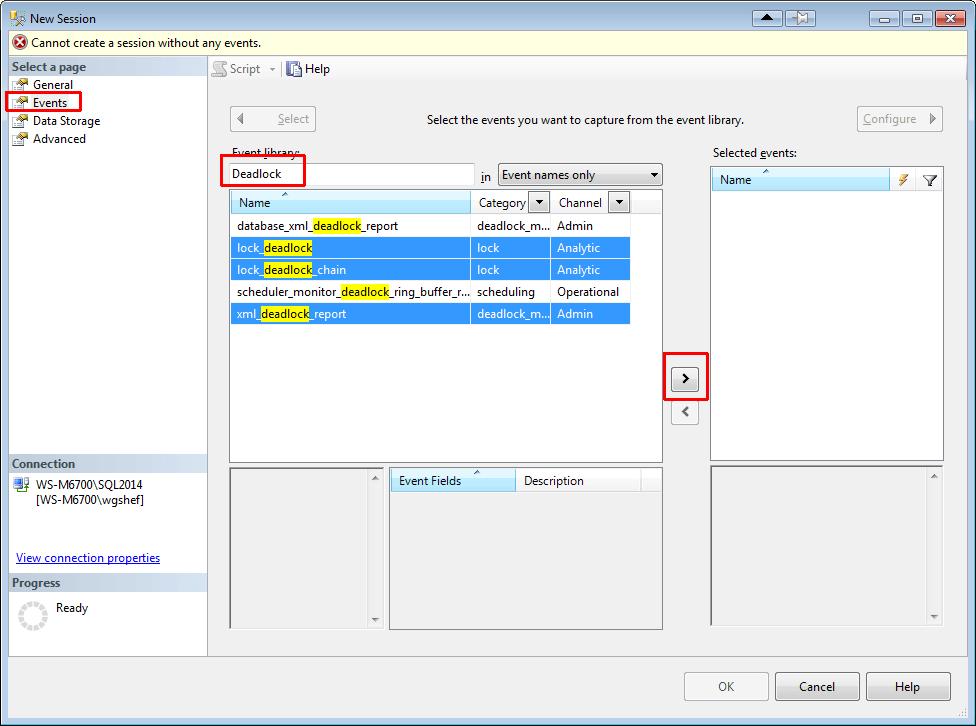 SSMS2014XE02-SelectEvents